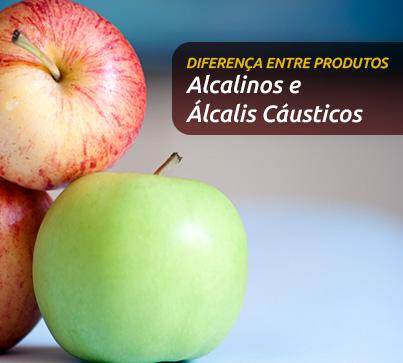 Qual a diferença entre produtos alcalinos e álcalis cáusticos? Qual é insalubre?